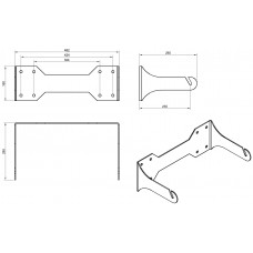 L15 Wall mount bracket