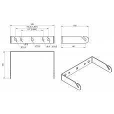 L6A Wall mount bracket