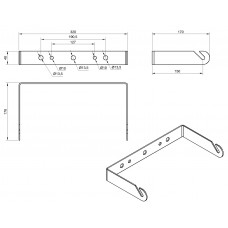 L81A - Wall mount bracket