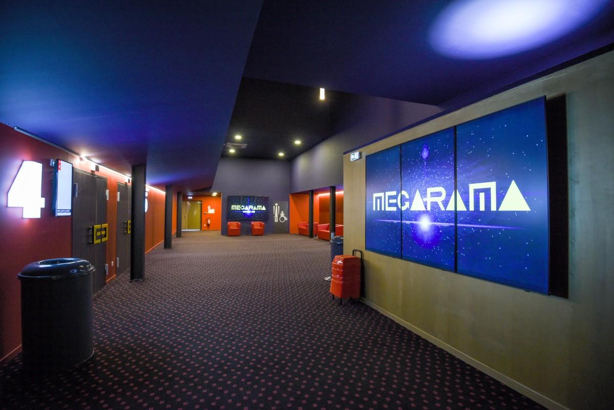 brand new megarama cinema with mag cinema speakers. Black Bedroom Furniture Sets. Home Design Ideas