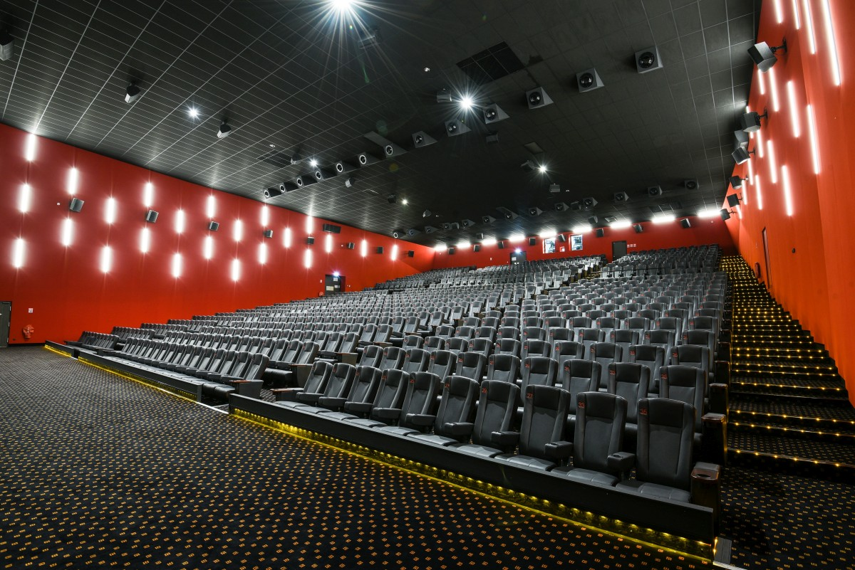 Brand new megarama cinema with mag cinema speakers - Montigny les cormeilles ...