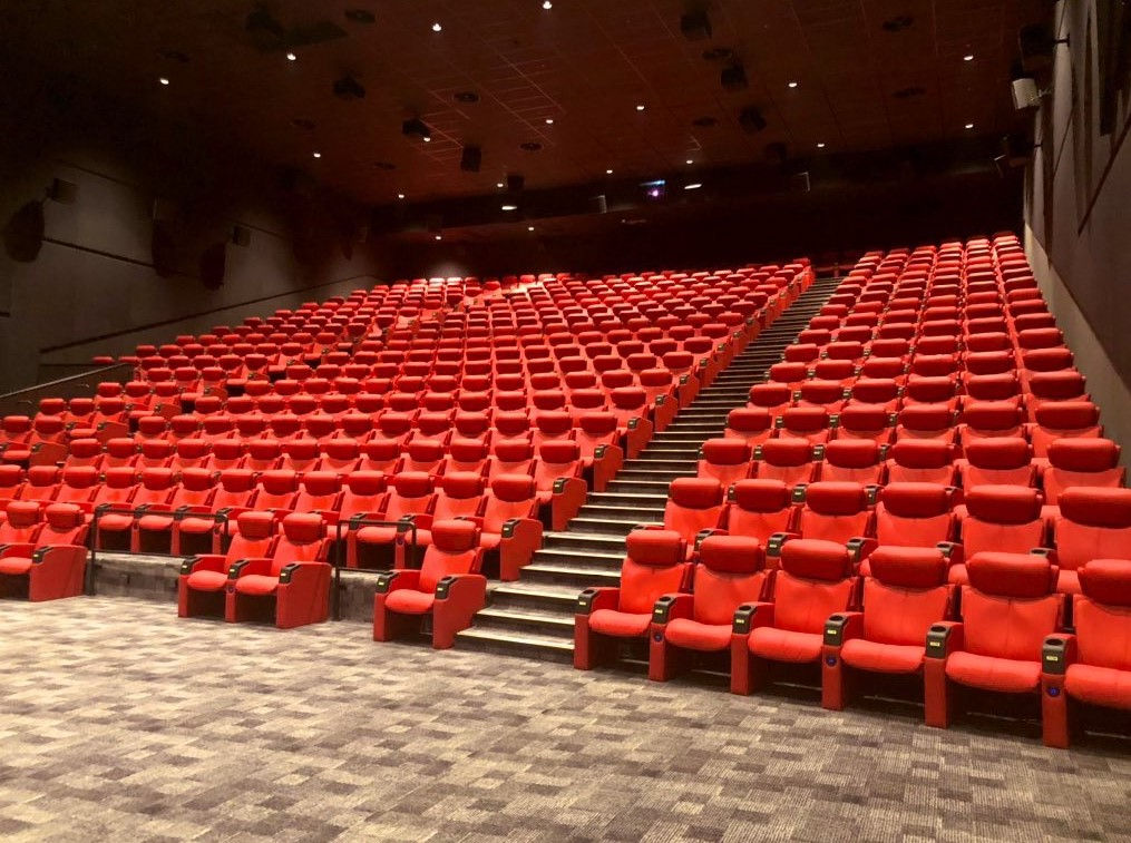 Mag Cinema Speakers In The Movie Theater Of Saudi Arabia